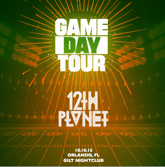 Game Day Tour 12th Planet