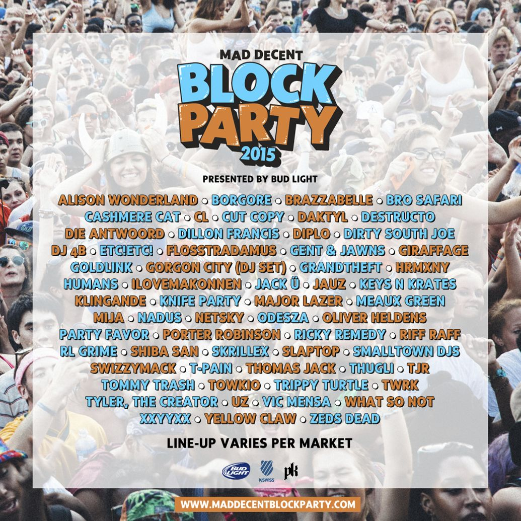 Mad Decent Block Party 2015