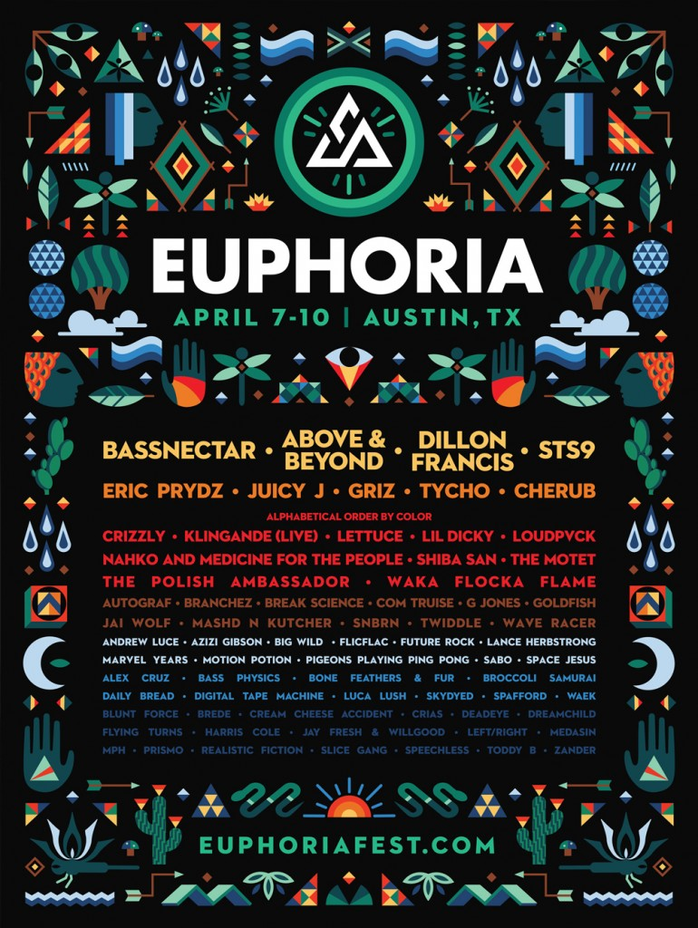 Euphoria Music Festival Lineup