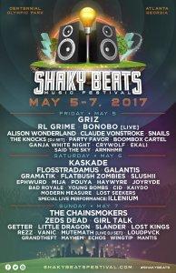 Shaky Beats Music Festival