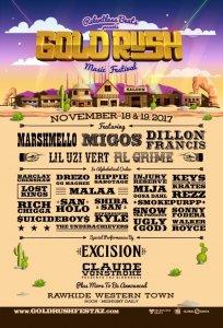 GoldRush Festival Arizona 2017