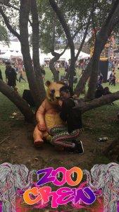 Electric Zoo, orange panda, Fefeline