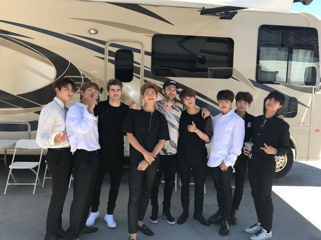 The Chainsmokers and BTS Collab on New EDM Track