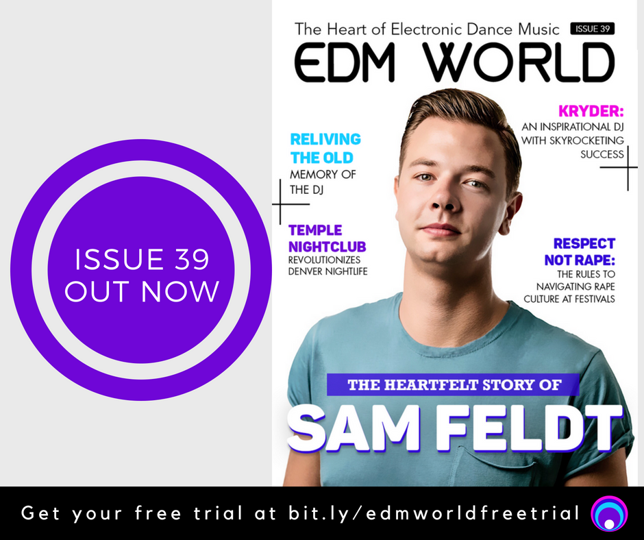 Sam Feldt EDM World Magazine Issue 39