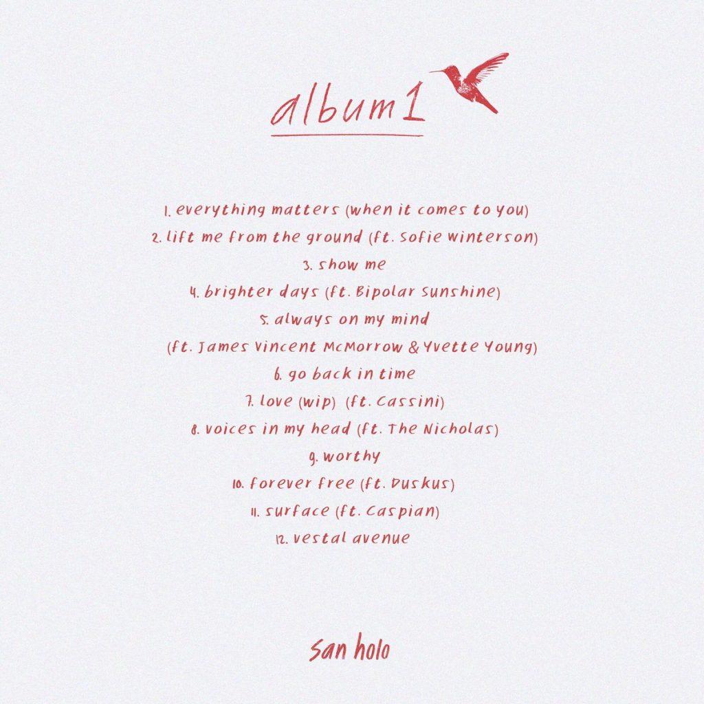 Album1 San Holo