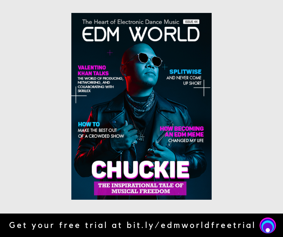 EDM World Magazine Issue 44 Chuckie Cover