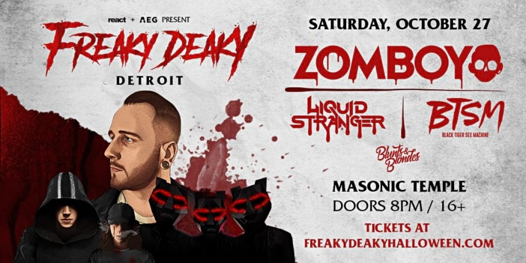 Freaky Deaky Detroit 2018 Line Up
