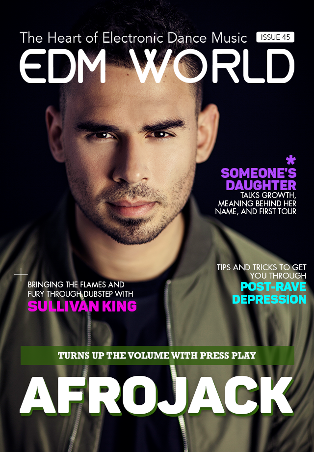 Afrojack EDM World Magazine