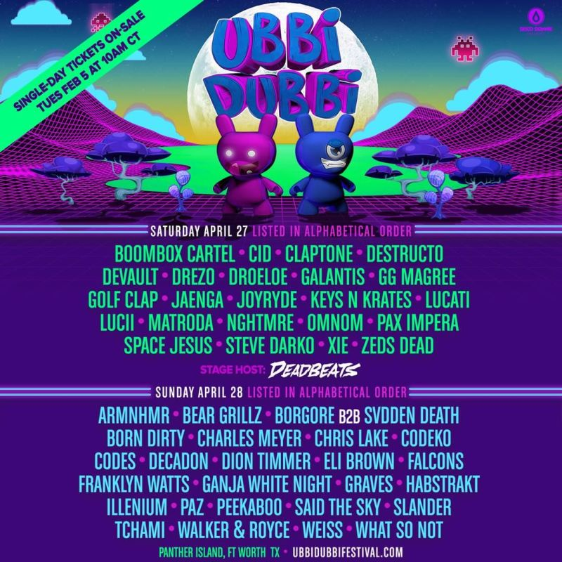 Ubbi Dubbi Festival Is Coming to Fort Worth, Texas!