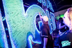 neon signature board