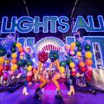 lights all night neon sign