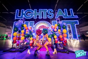 lights all night sign