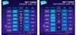 Lights All night daily schedule