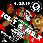 Ice T Mr. X flyer