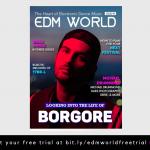 Borgore EDM World Magazine Cover