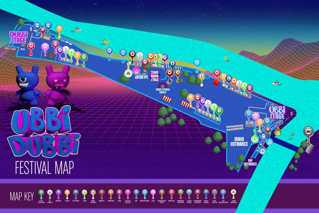 Ubbi Dubbi Festival Map 2019-min