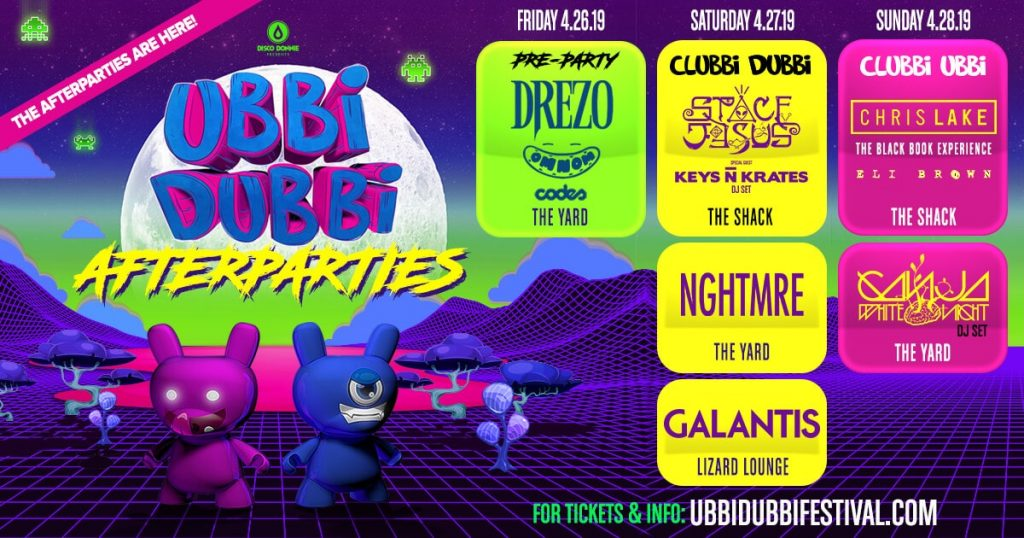 Ubbi Dubbi Festival Pre-Party Afterparties-min