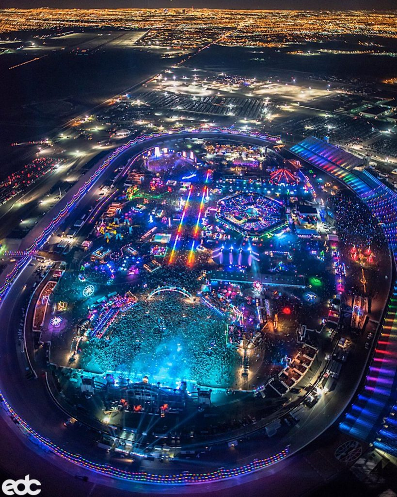 Electric Daisy Carnival Sky View