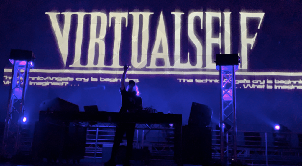 Virtual Self Performs Ghost Voices at Brooklyn Mirage Avant Gardner EDM Clubsystem Set