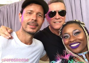 cosmic gate with edm world magazine interviewer FeFe Greene