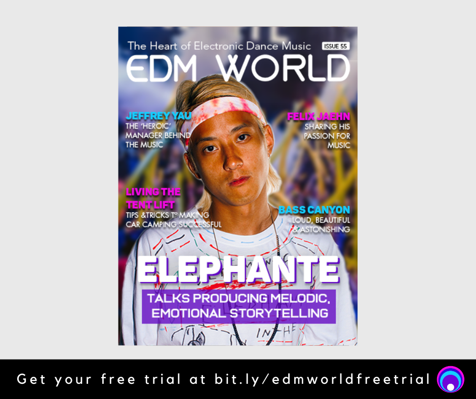EDM World Magazine Elephante