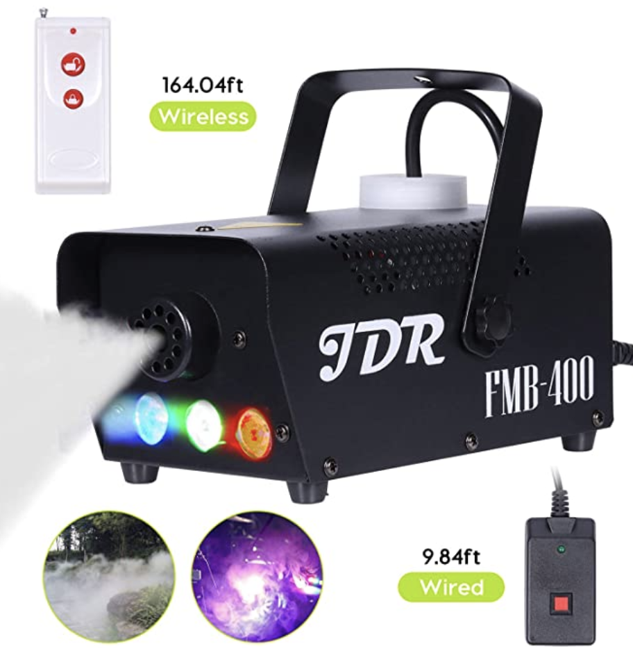 Fog Machine With Lights