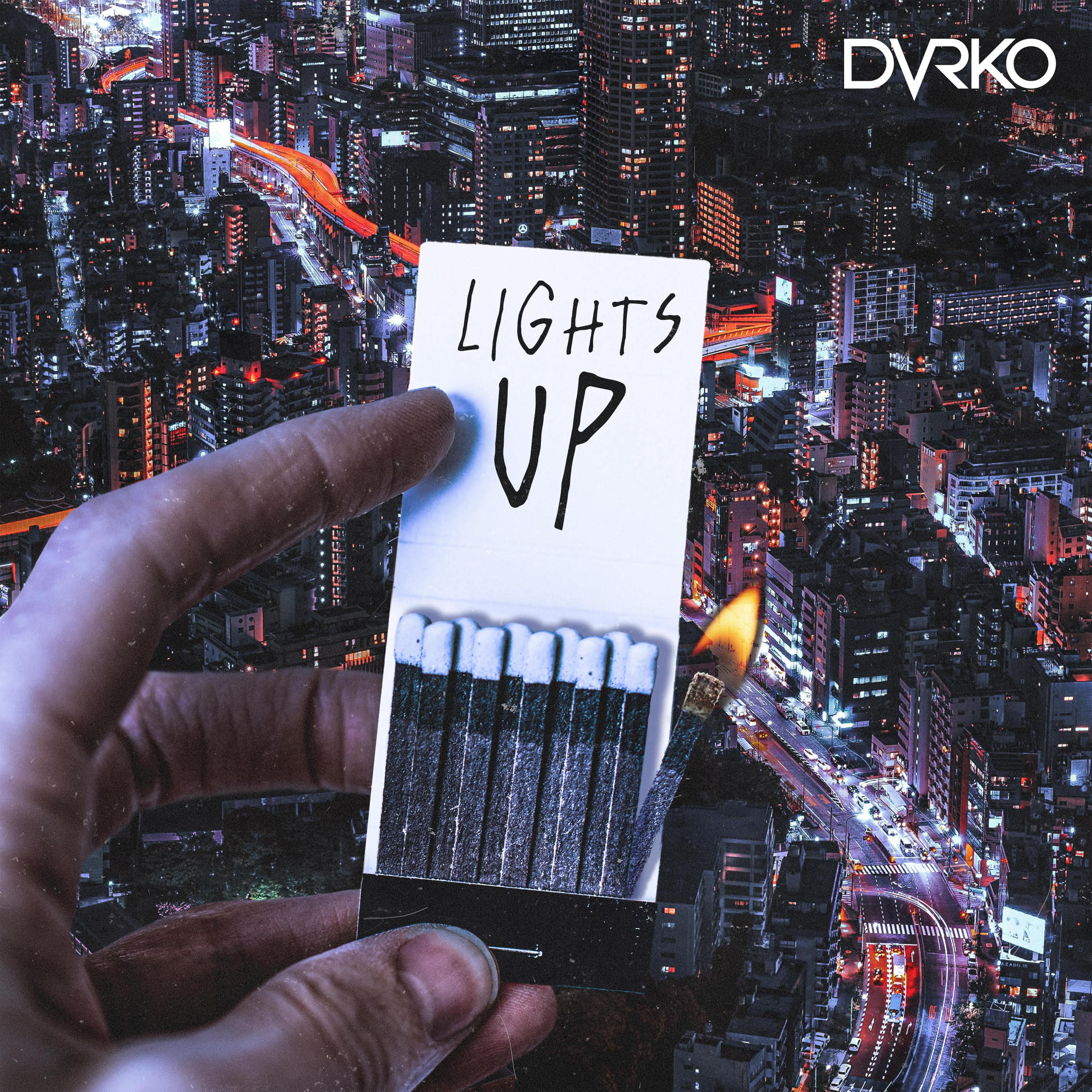 DVRKO Lights Up Cover Art