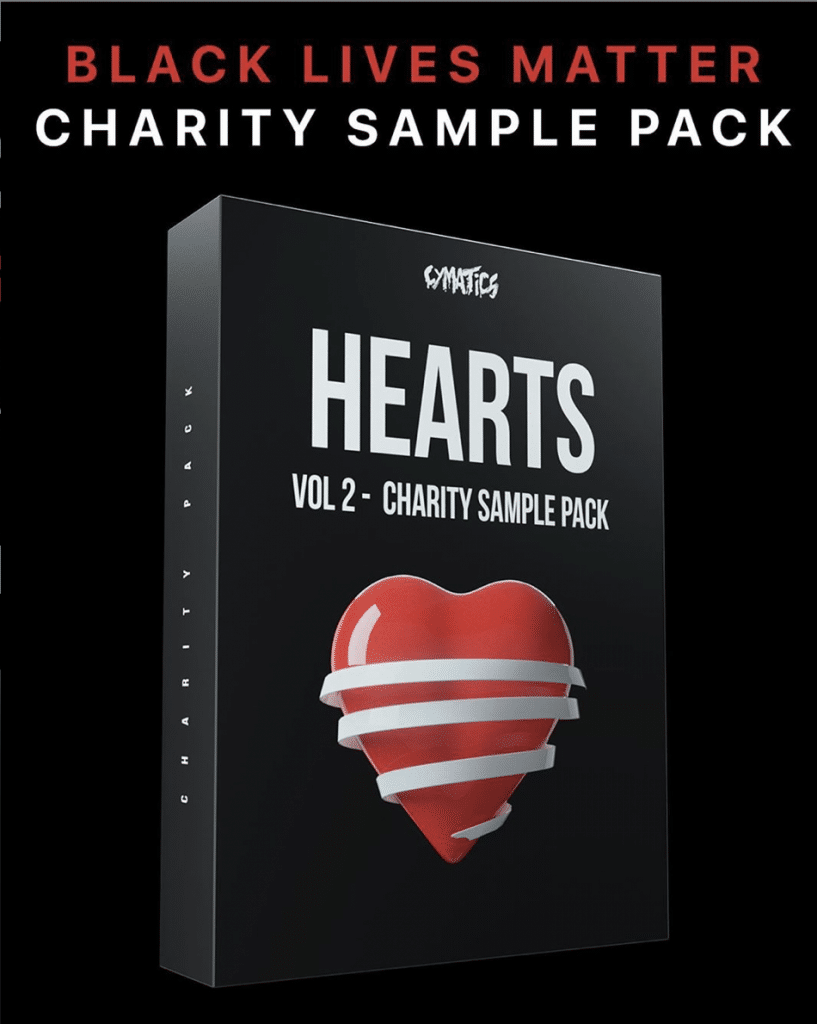 Cymatics Hearts Volume 2 Charity Sample Pack