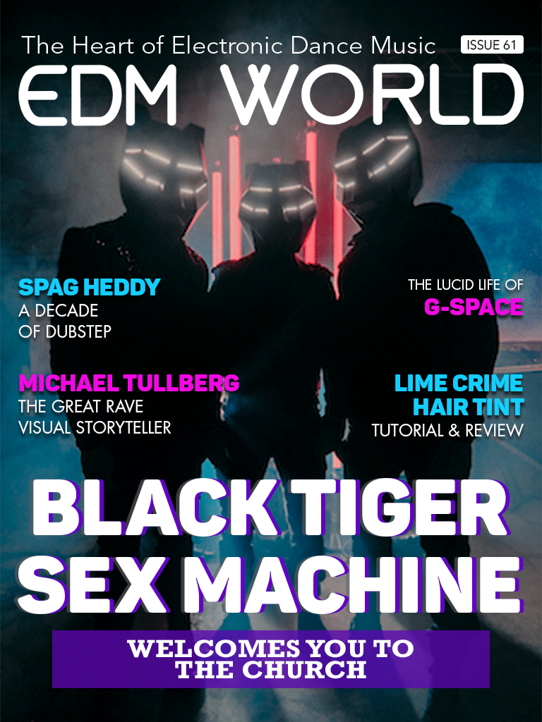 Issue 61 Black Tiger Sex Machine