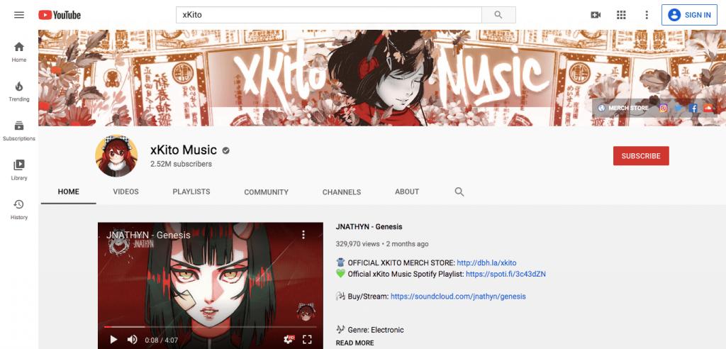 xKito music channel