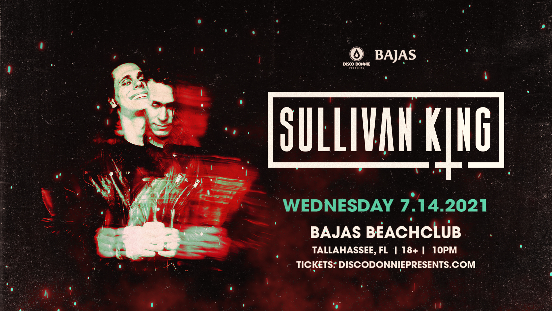 Sullivan King, Bajas, Event