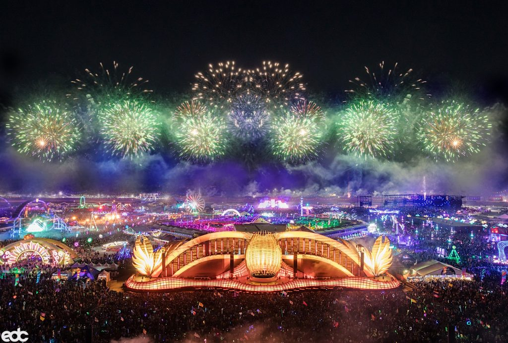 Picture of EDC Las Vegas Stage