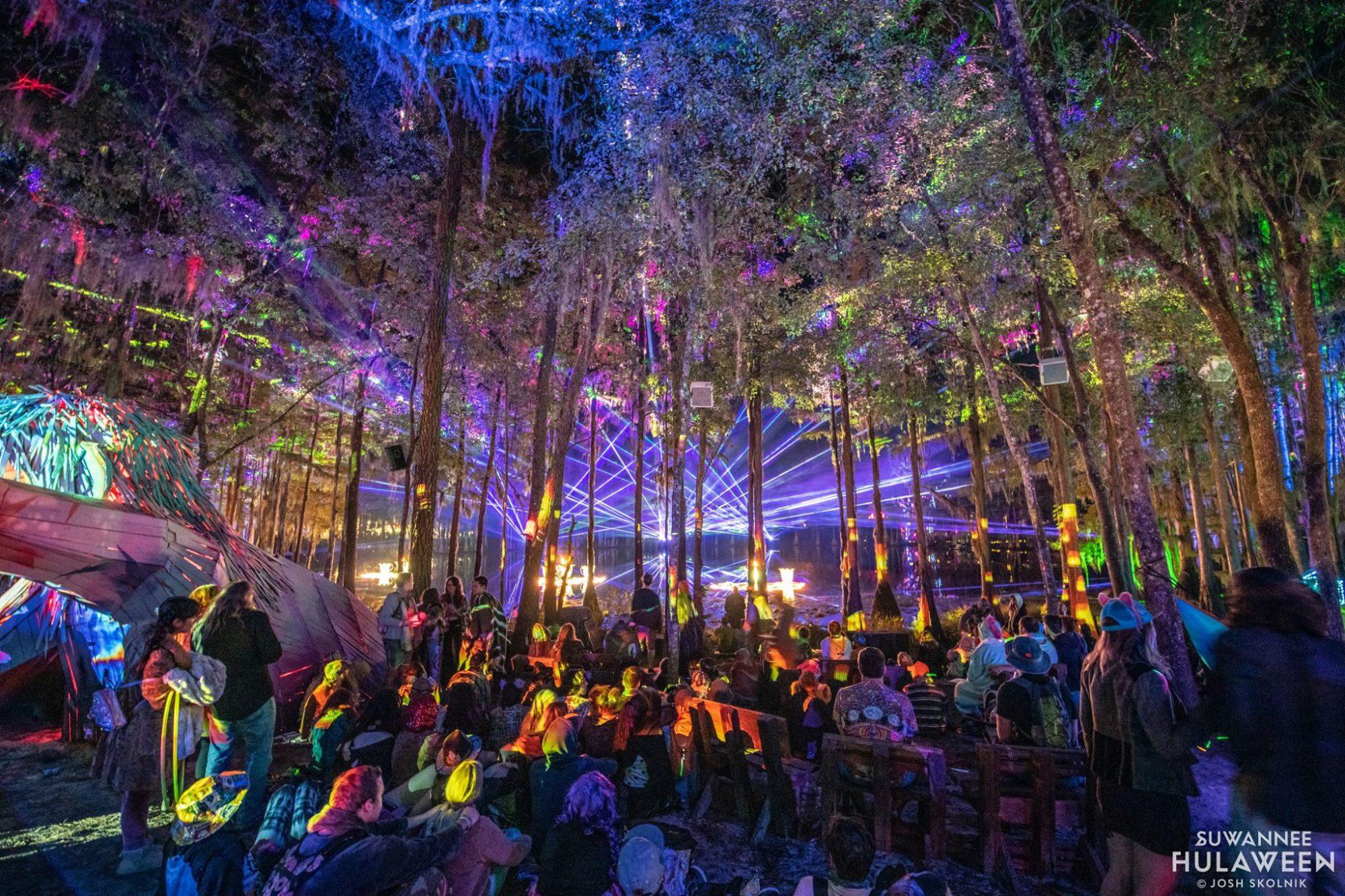 Suwannee Hulaween, fesitval, camping, rave