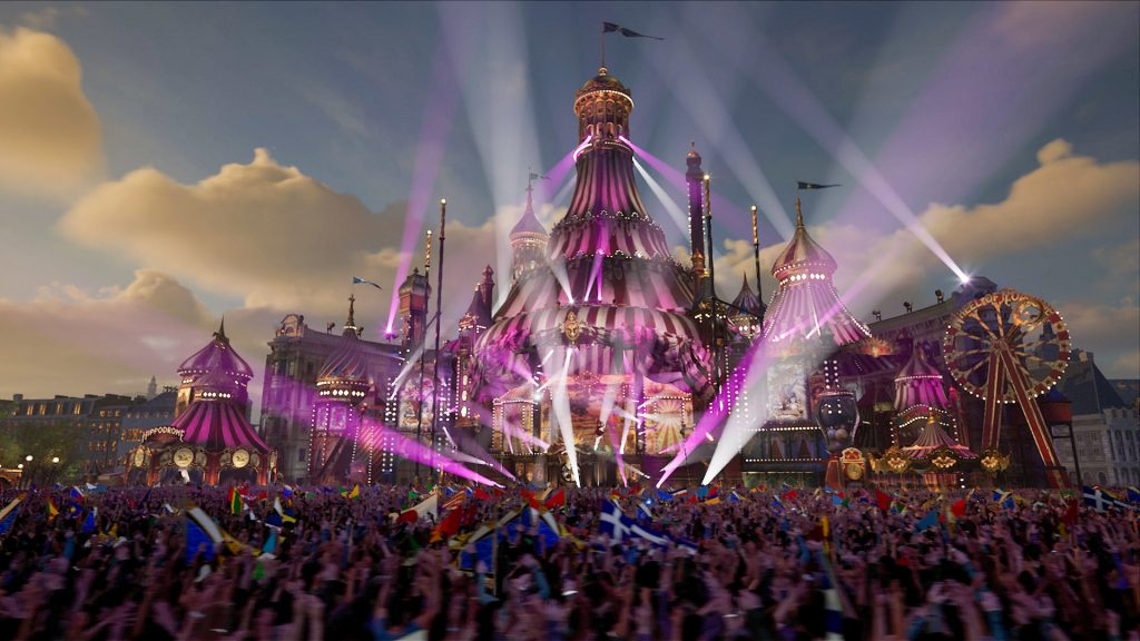 Picture of Tomorrowland stage