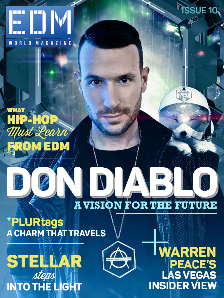 Issue 10 EDM World Magazine Don Diablo