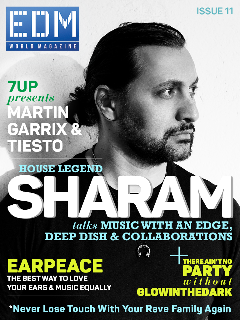 Issue 11 Cover EDM World Magazine