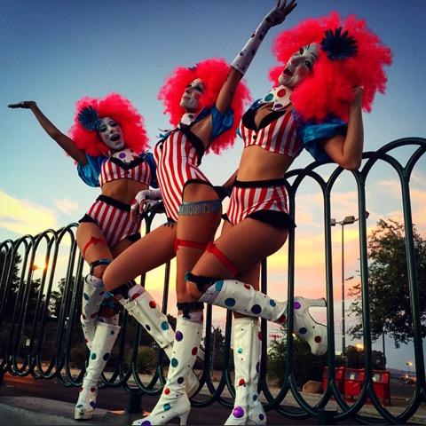alexandra_izzo_15edc_las_vegas_2015-_coney_island_clowns__filming_with_pasquale._i_am_on_left