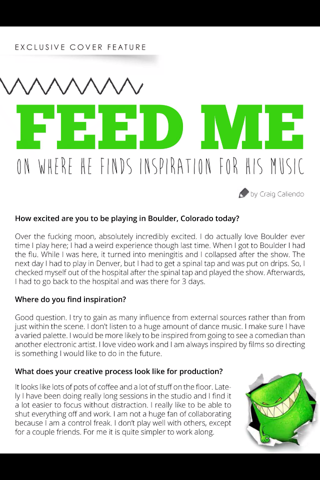 Feed Me Issue 8